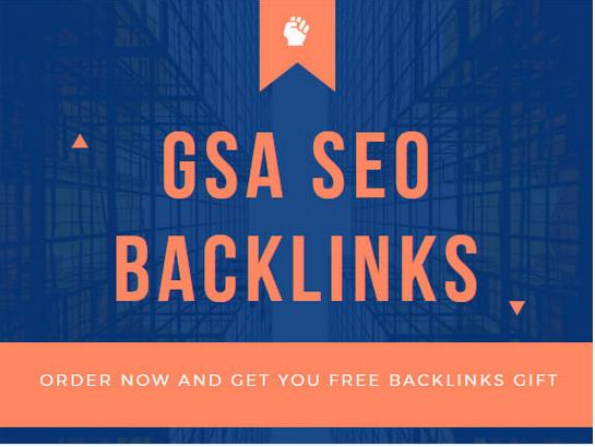 Create 100k gsa seo backlinks for your website