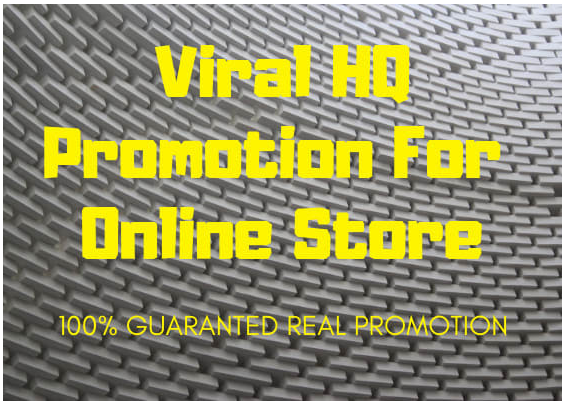 Do viral High Quality SEO promotion for your online store