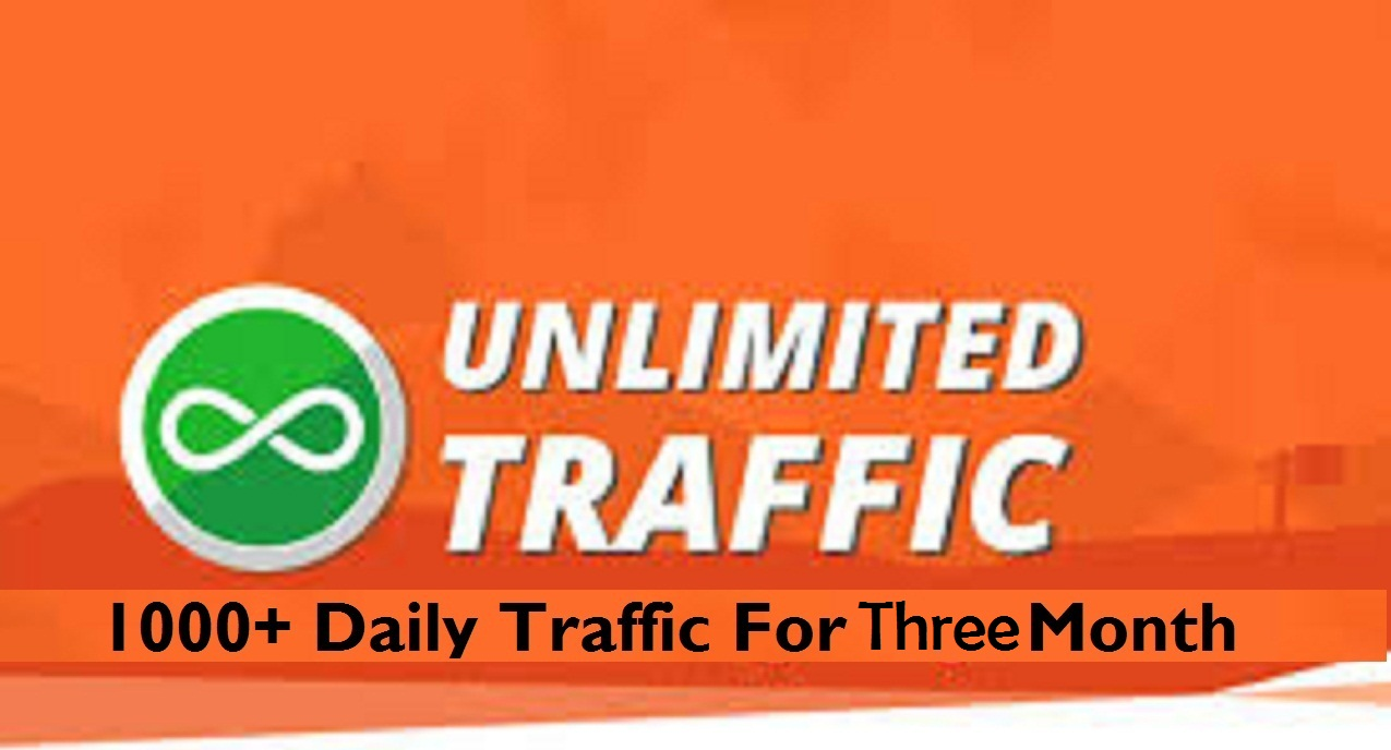 1,000+ Daily Traffic to Your Website for 60 days