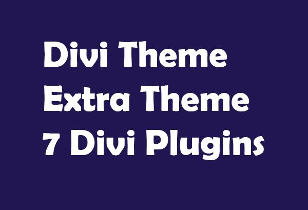 Install Divi Theme Extra Theme And Divi 7 Plugins