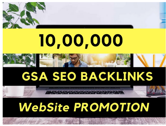 do website promotion by gsa seo backlinks