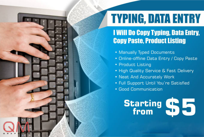 Do Product Listing,  Copy Typing,  Data Entry,  Copy Paste.