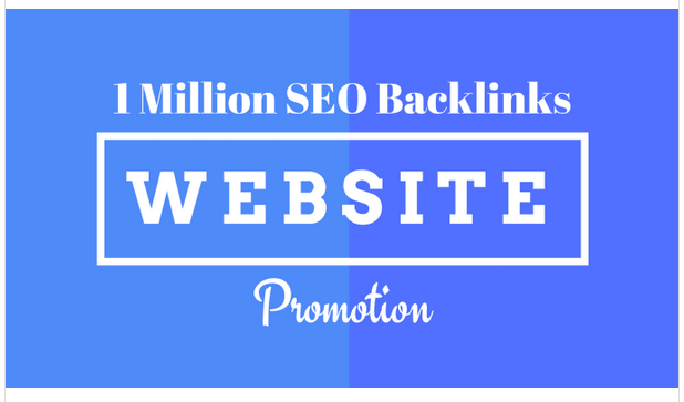 create 1m SEO backlinks for website promotion,web ranking