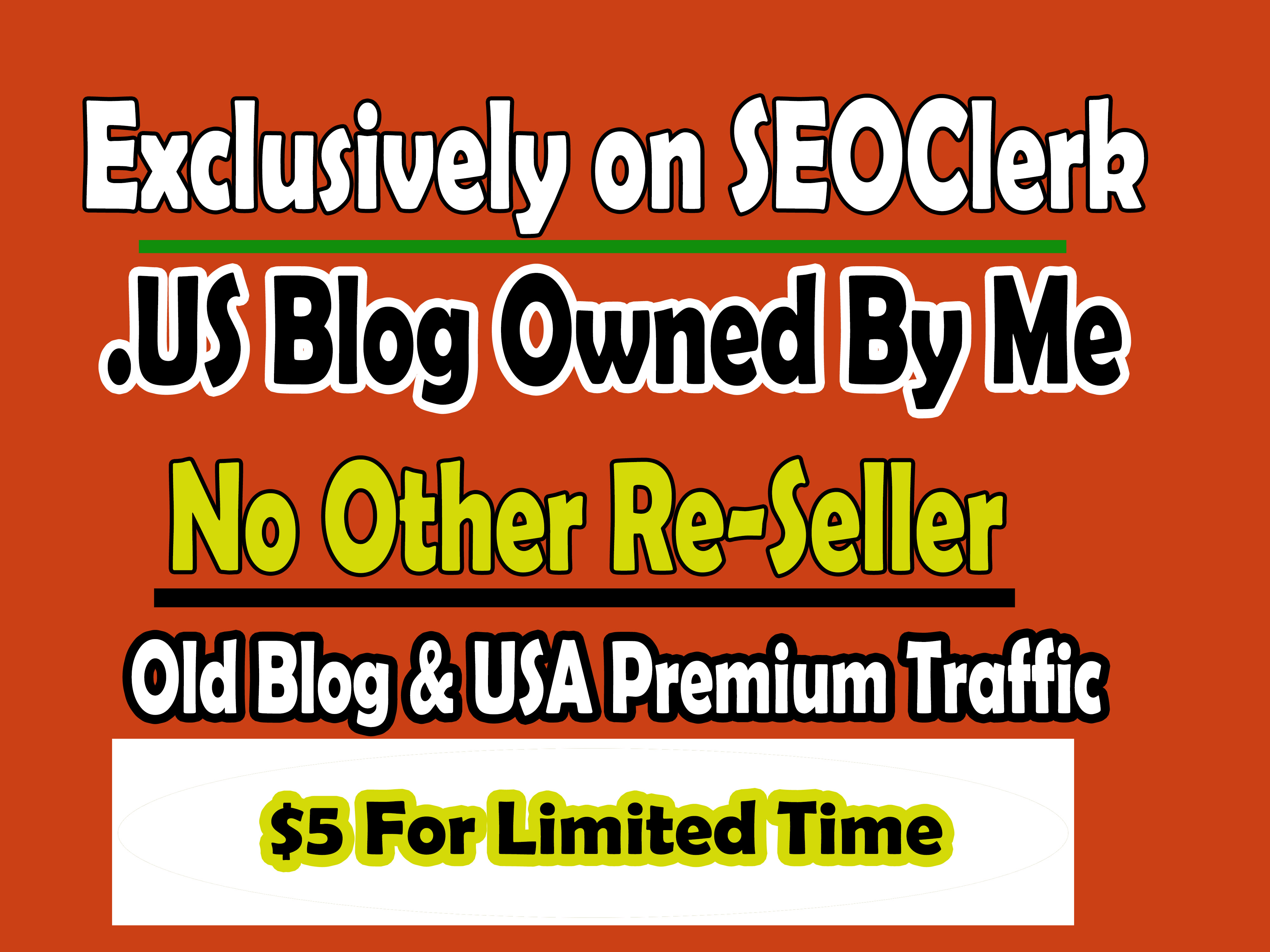 Do guest posting on unique blog USA owned by me no other seller with Dofollow Link