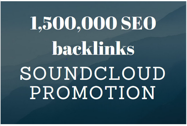 provide you 1 million SEO backlinks for music promotion