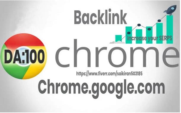 Create a backlink on google chrome