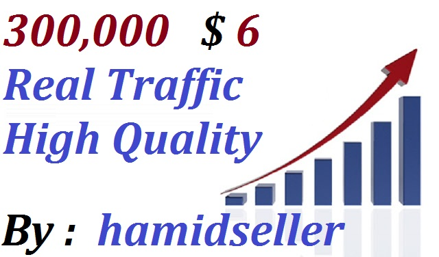 Real +300,000 WorldWide Website Traffic Visitors To your Non Drop And Very High Qulity And Unlimited Traffic Site Adsence Safe and Genuine Just for