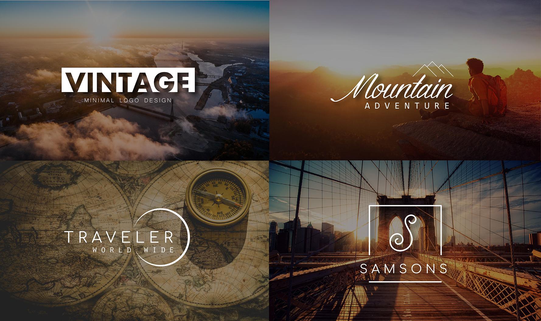Design Minimal Vintage business logos