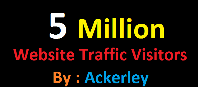5 Million Worldwide Website Traffic For network Marke...