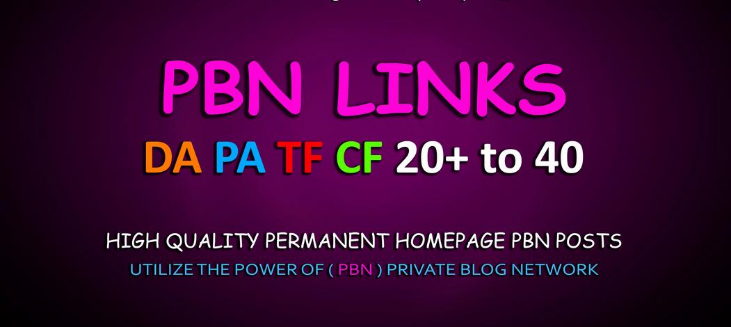 build 10 permanent dofollow pbn backlinks