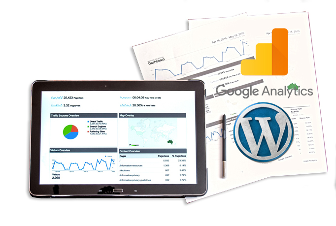 Install Google Analytics in Wordpress Website