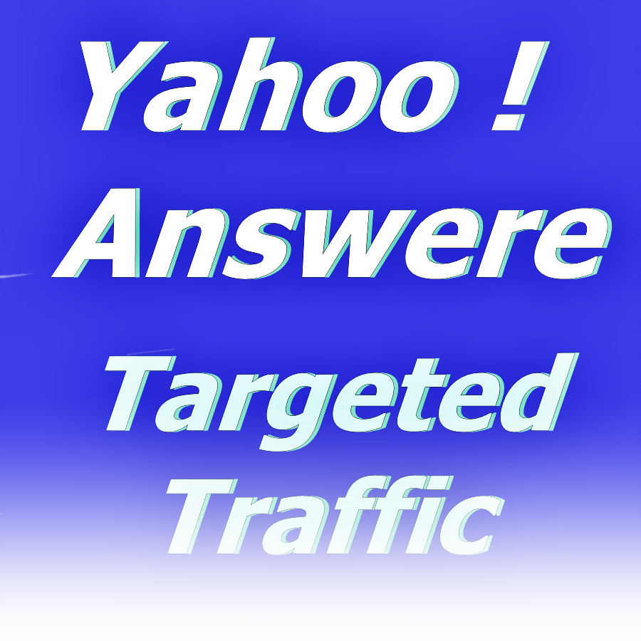 Promote your Website in 10 Yahoo Answers with unique article