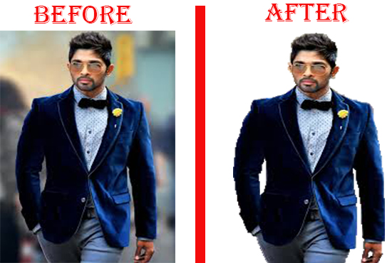 Background Removal and Retouching