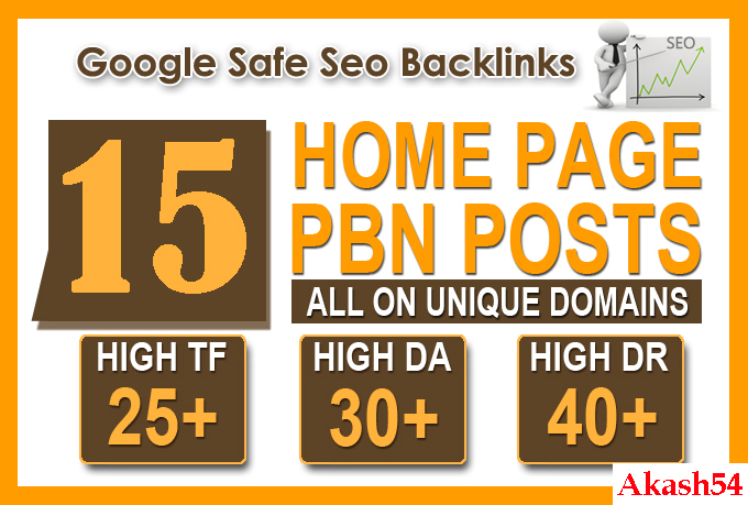 Add 15 High Quality DA/PA CF/TF Unique Domain Google ...