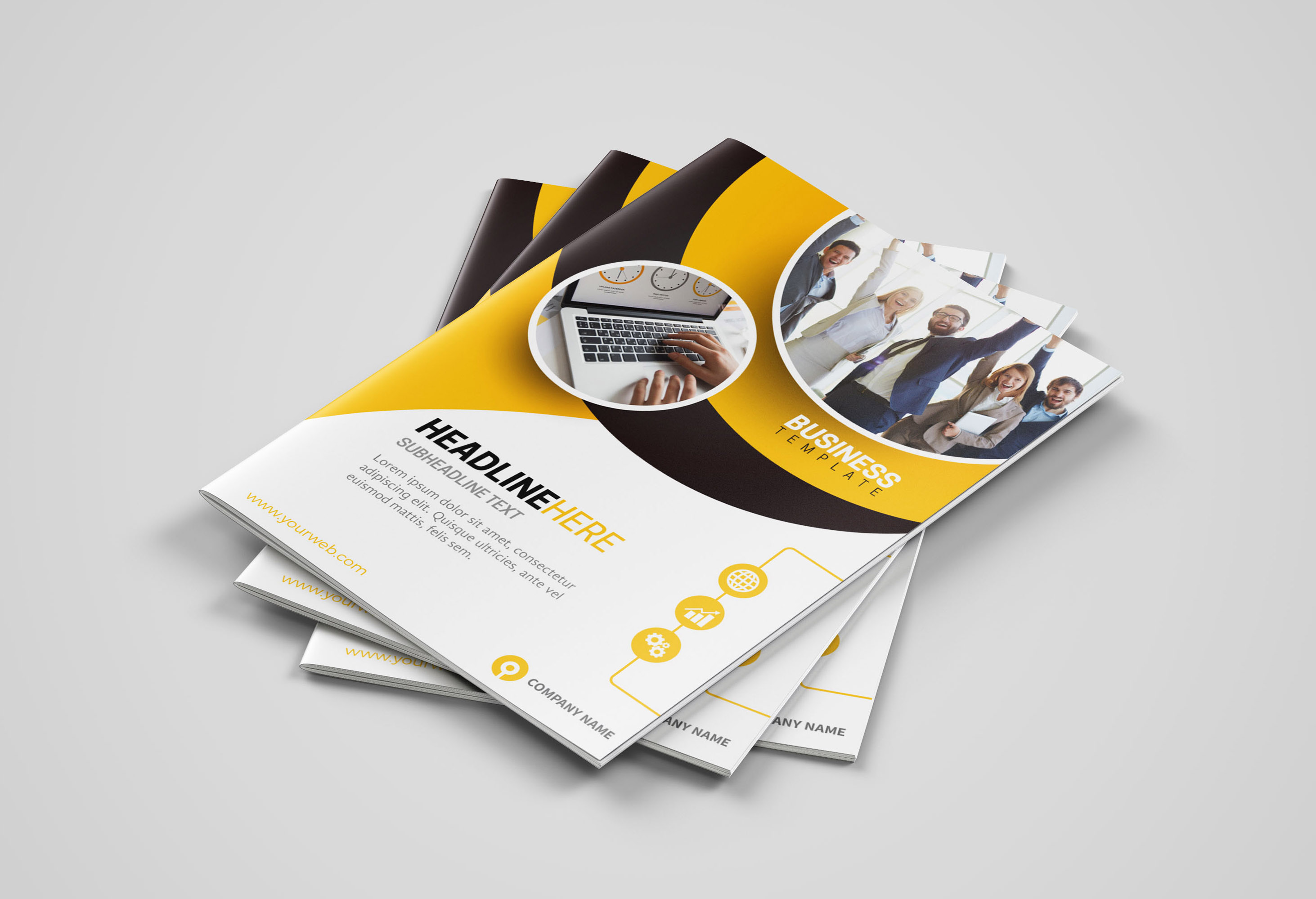 Design Business Brochure,  Company Profile Or Annual Report