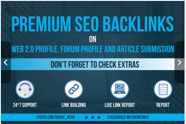 create 900 high quality premium SEO backlinks