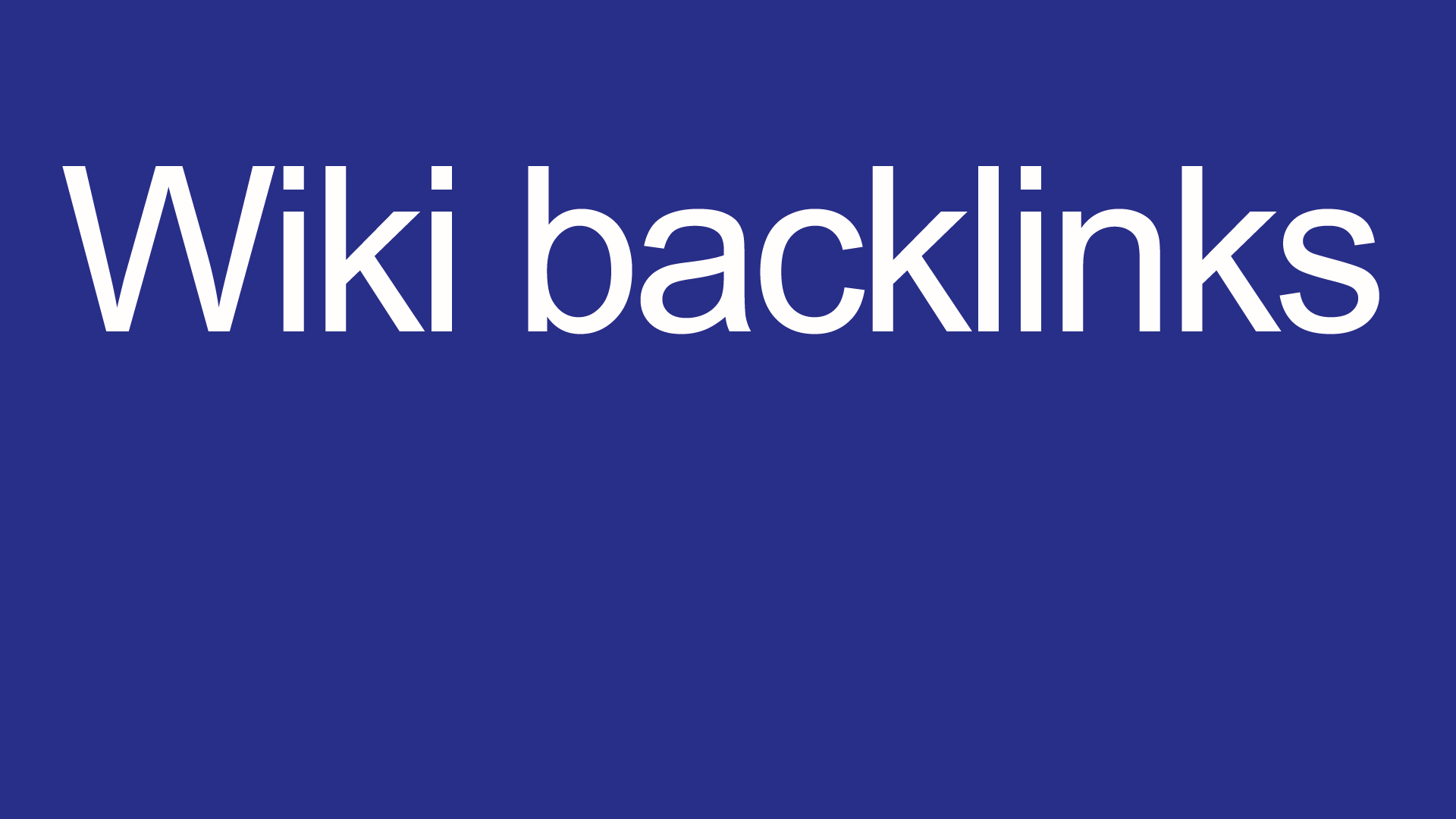 Wiki backlinks 4000 backlinks for your site