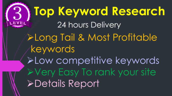 Give you 15 keywors research for your site