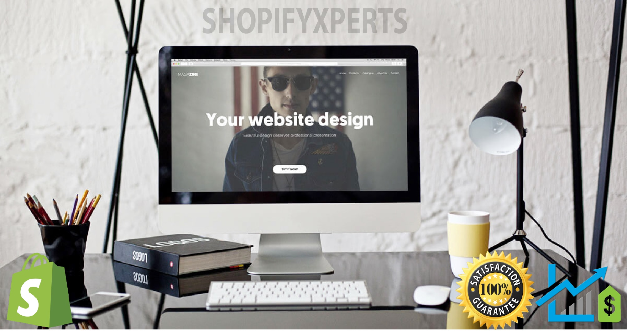 Design and Develop Shopify Store And Shopify Dropshipping Store