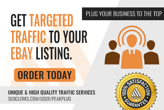 Real Targeted Traffic To Any eBay Listings