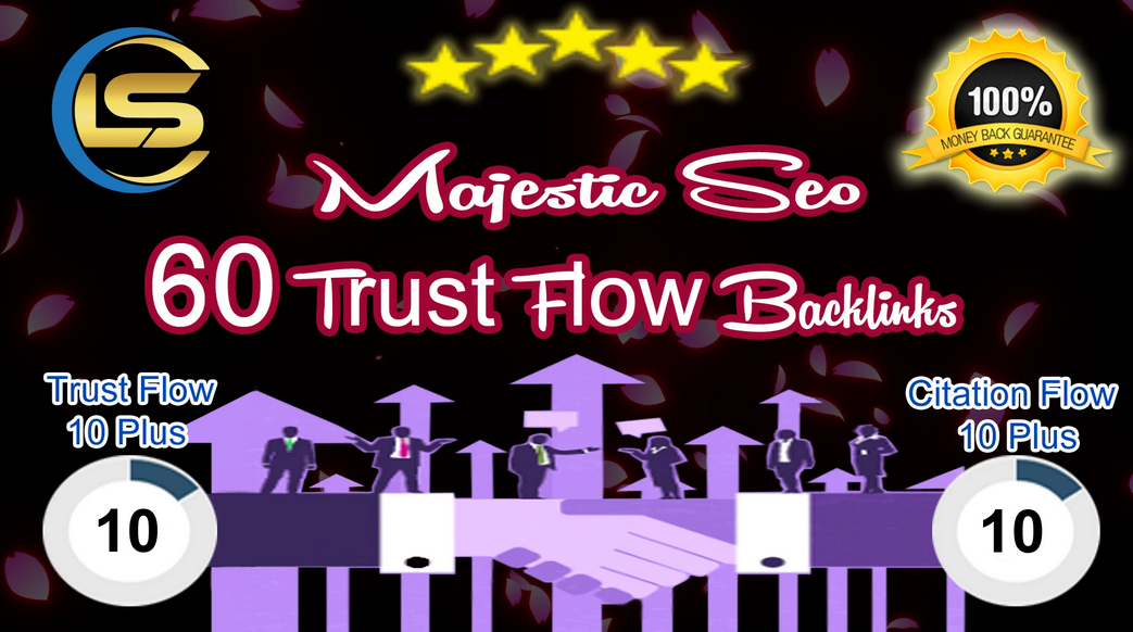 60 high trust flow and citation flow dofollow backlinks