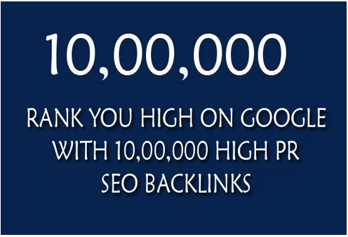 Rank you high on google with 10,00,000 quality offpge SEO backlinks