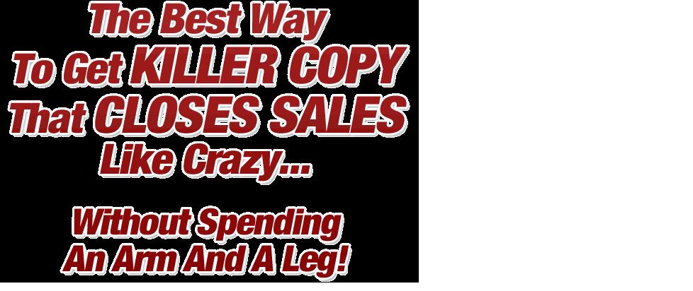 Write Catchy Sales Copy And Ad Copy For Your Landing ...