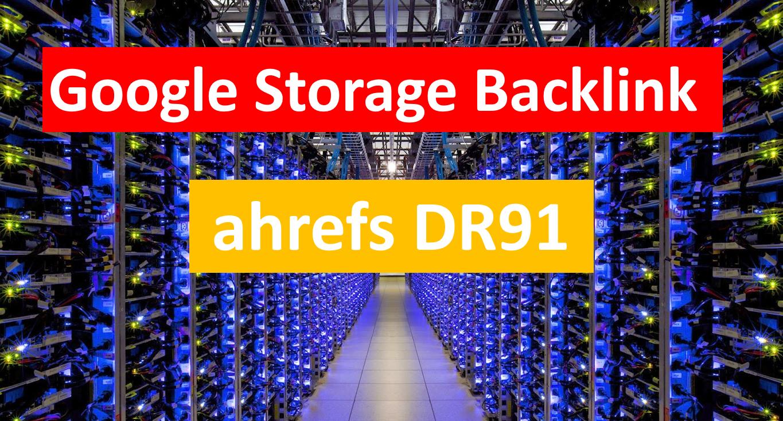 DR91 Google Storage Backlink