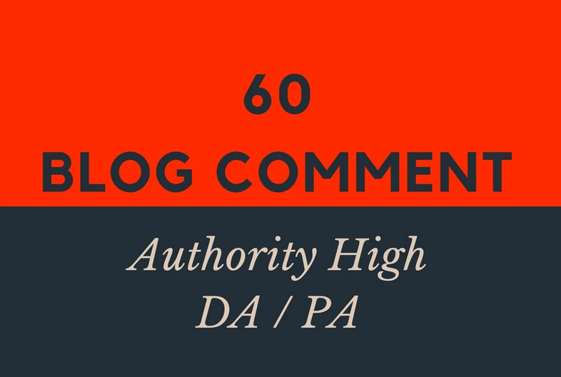 create 60 high da dofollow blog comments backlinks