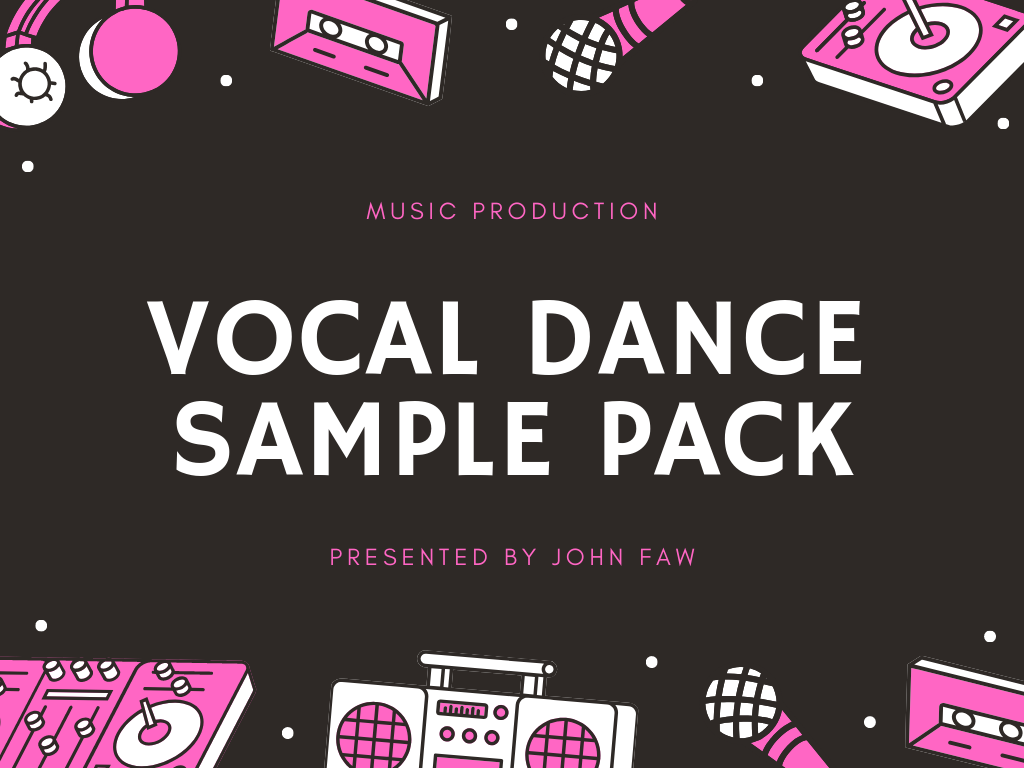 Get Professional Vocal Dance Sample Pack - Music Production