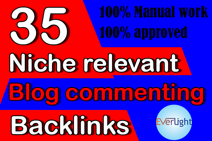 provide relevant and niche based quality backlinks