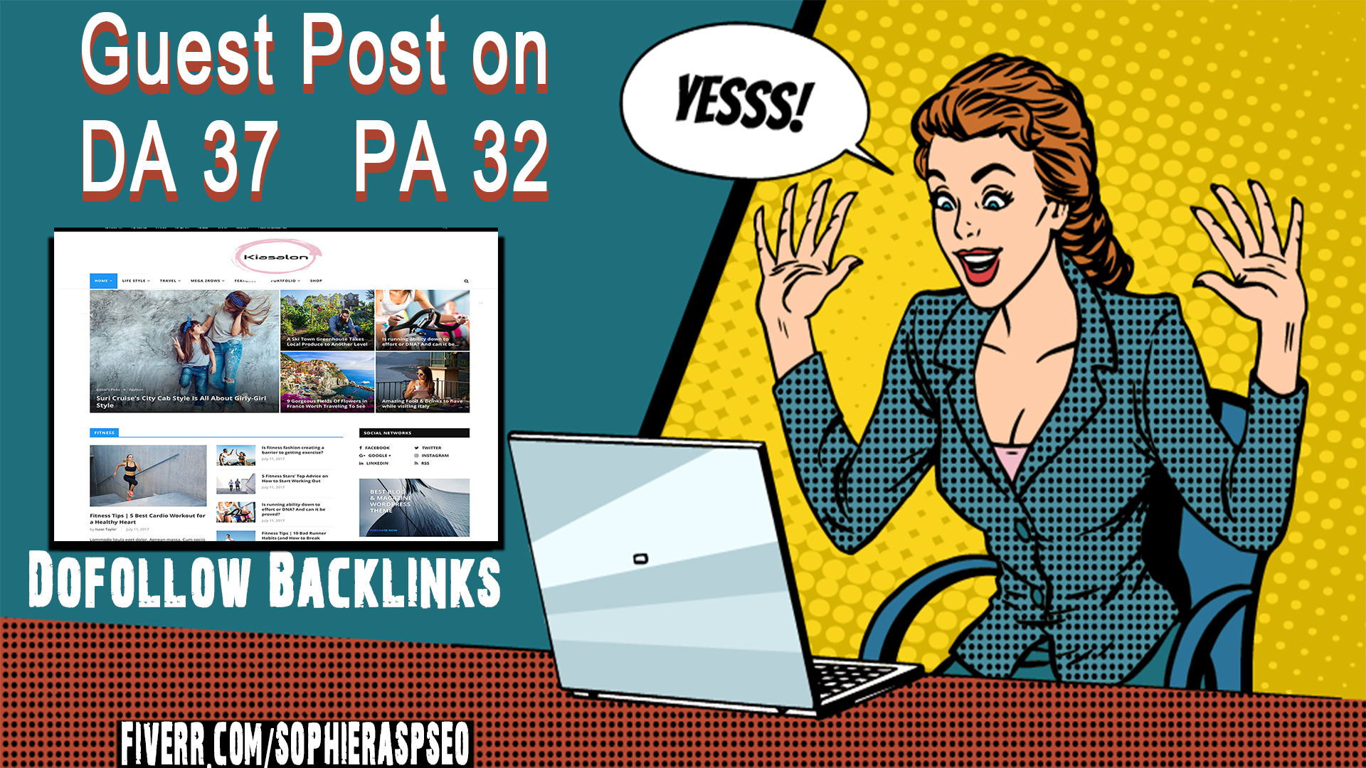 Guest Post On My Da 37 Magazine Blog With Dofollow Backlinks