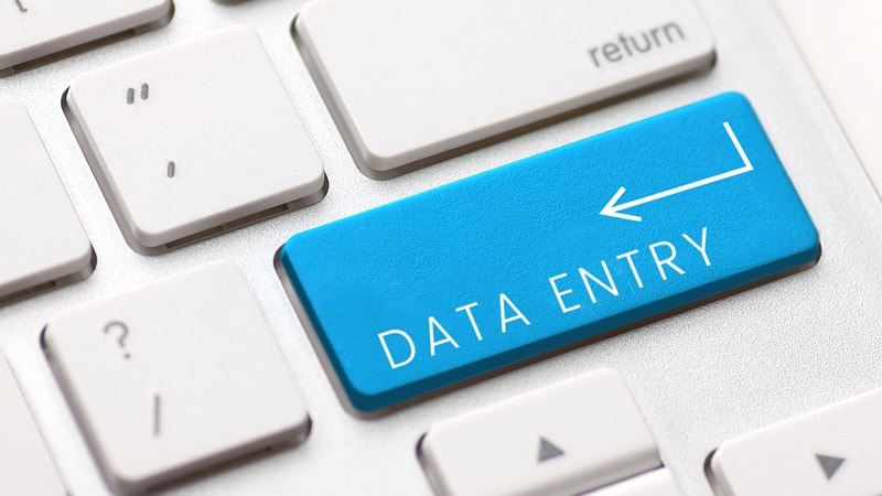 Data Entry Internet Research and data collection services per hr