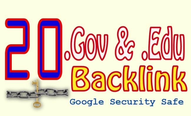 Special Offer Create 20 Edu/Gov High Quality Authority Backlinks