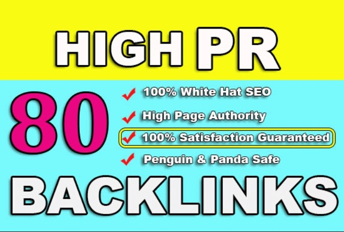 80 UNIQUE SEO BackIinks on DA100 Websites Plus Edu Backlinks