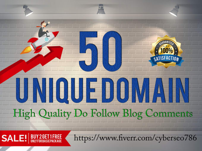 DO 50 high Da Pa Blog Comment Backlinks