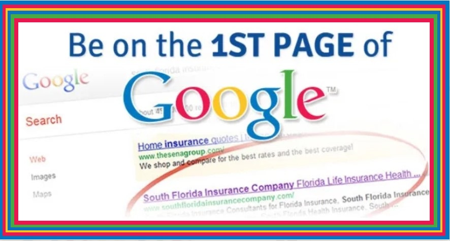 Rank Your Website On 1st Page Of Google Search