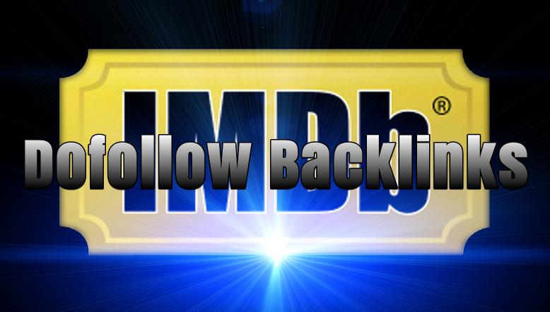 IMDb Backlink (Dofollow)