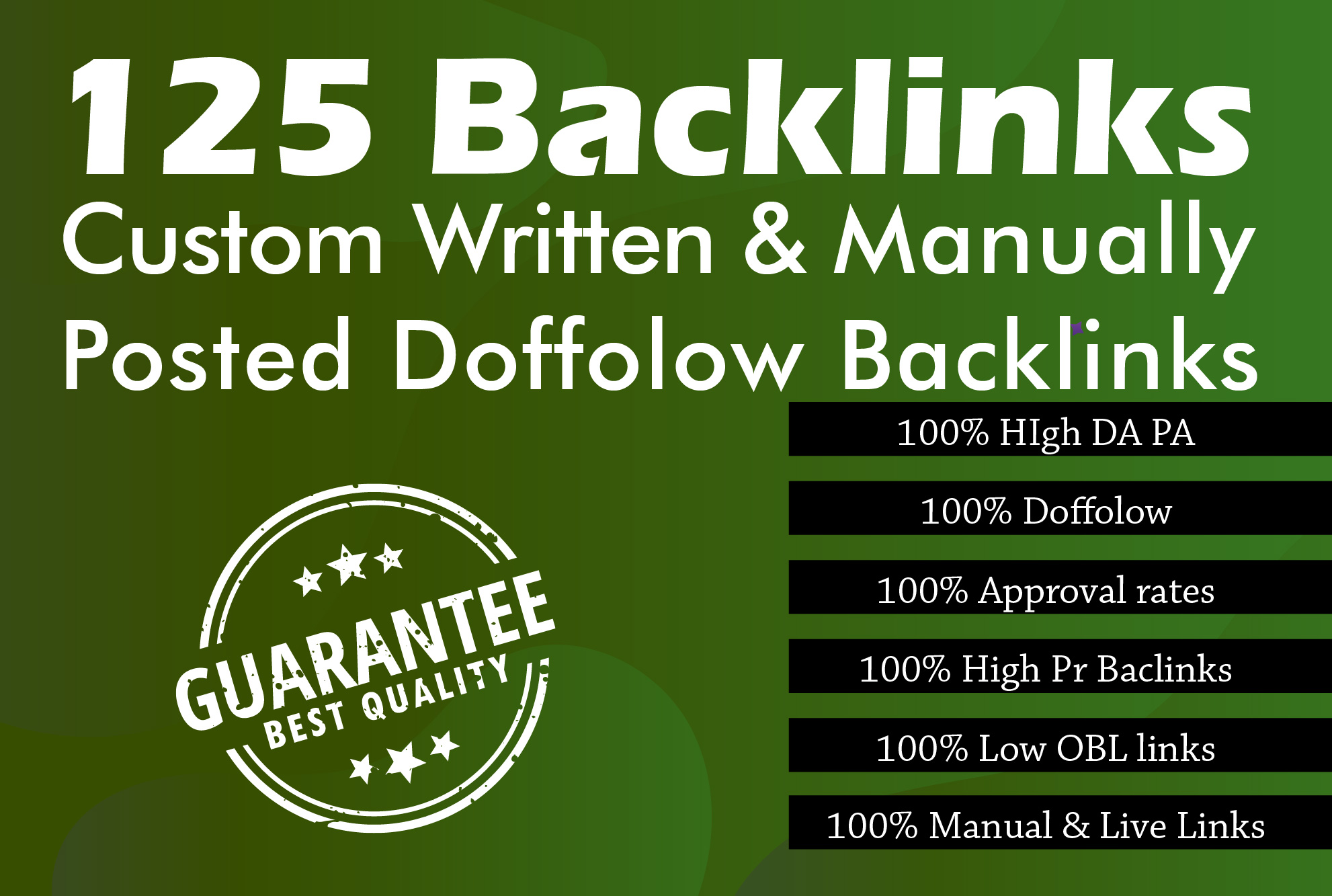 Provide Manual 125 Dofollow Blog Commenting