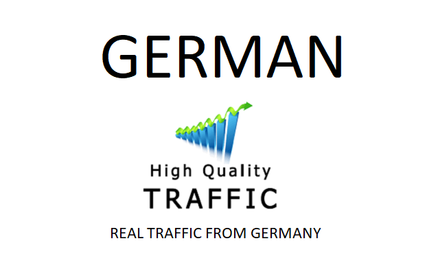 TARGETED 50,000 real human german traffic with low bounce rate