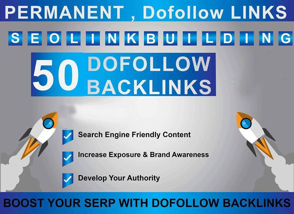 SEO permanent dofollow backlinks