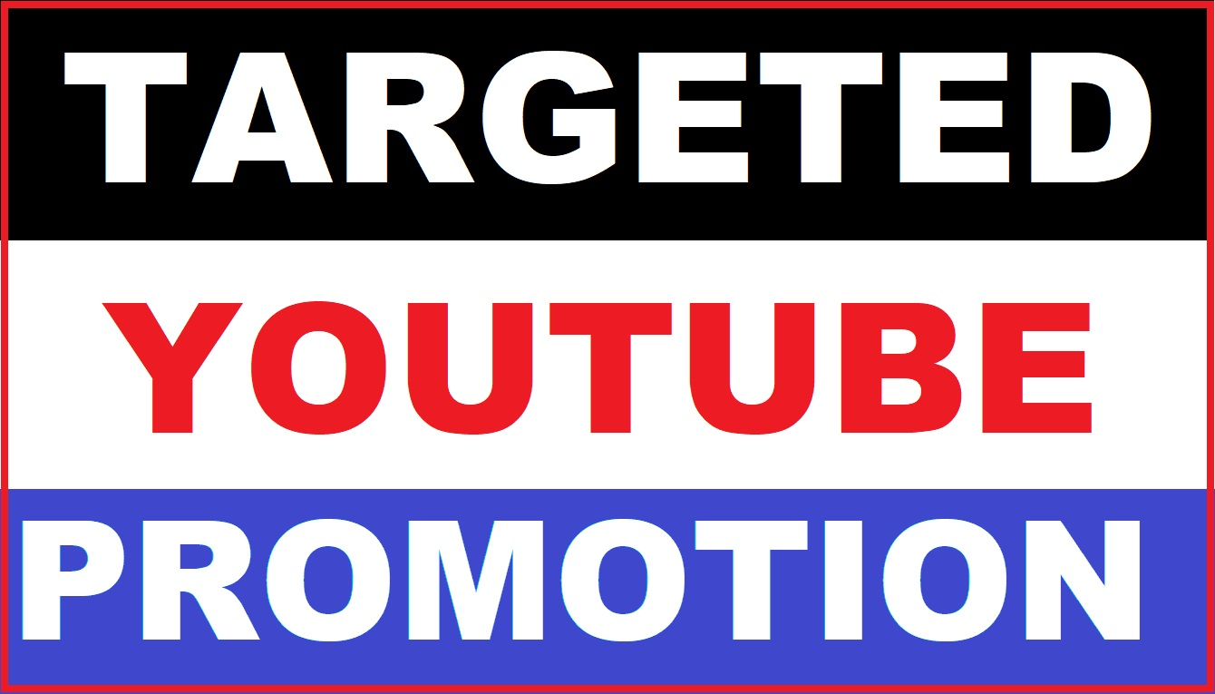 YouTube Video Promotion with safe USA Targeted audience