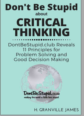 Critical Thinking DontBeStupid eBook