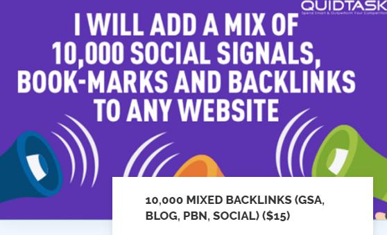 10,000 MIXED BACKLINKS GSA,  BLOG,  PBN,  SOCIAL SIGNALS AND BOOKMARKS