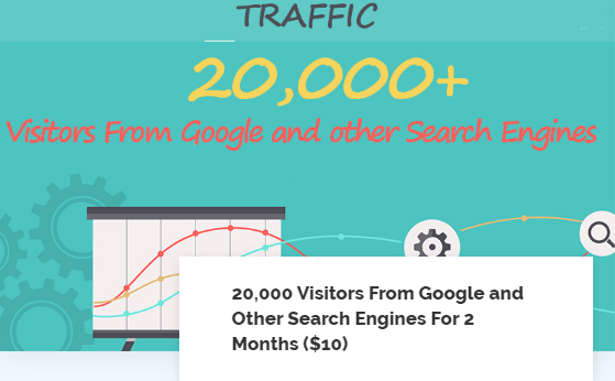 20000 Visitors From Google and Other Search Engines - Worldwide Organic Traffic - White Label Service