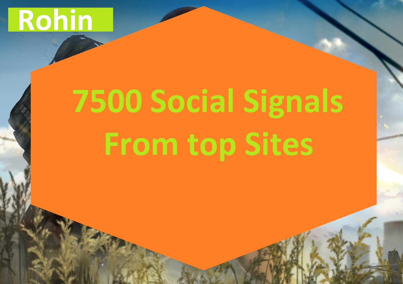 7500 Real Seo PR9 Social Signals social bookmarking for Improve  search Ranking