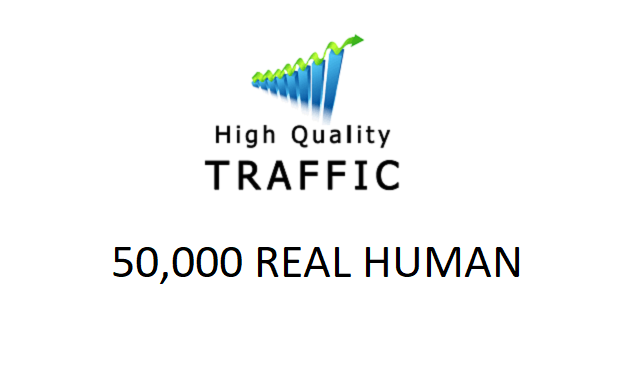 SPECIAL OFFER - TARGETED 50,000 real human traffic to your website
