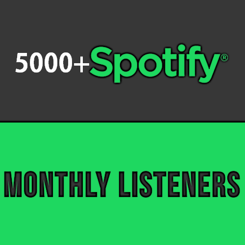 Fastest 5000+ Monthly Listeners For Artist Profile Ex...
