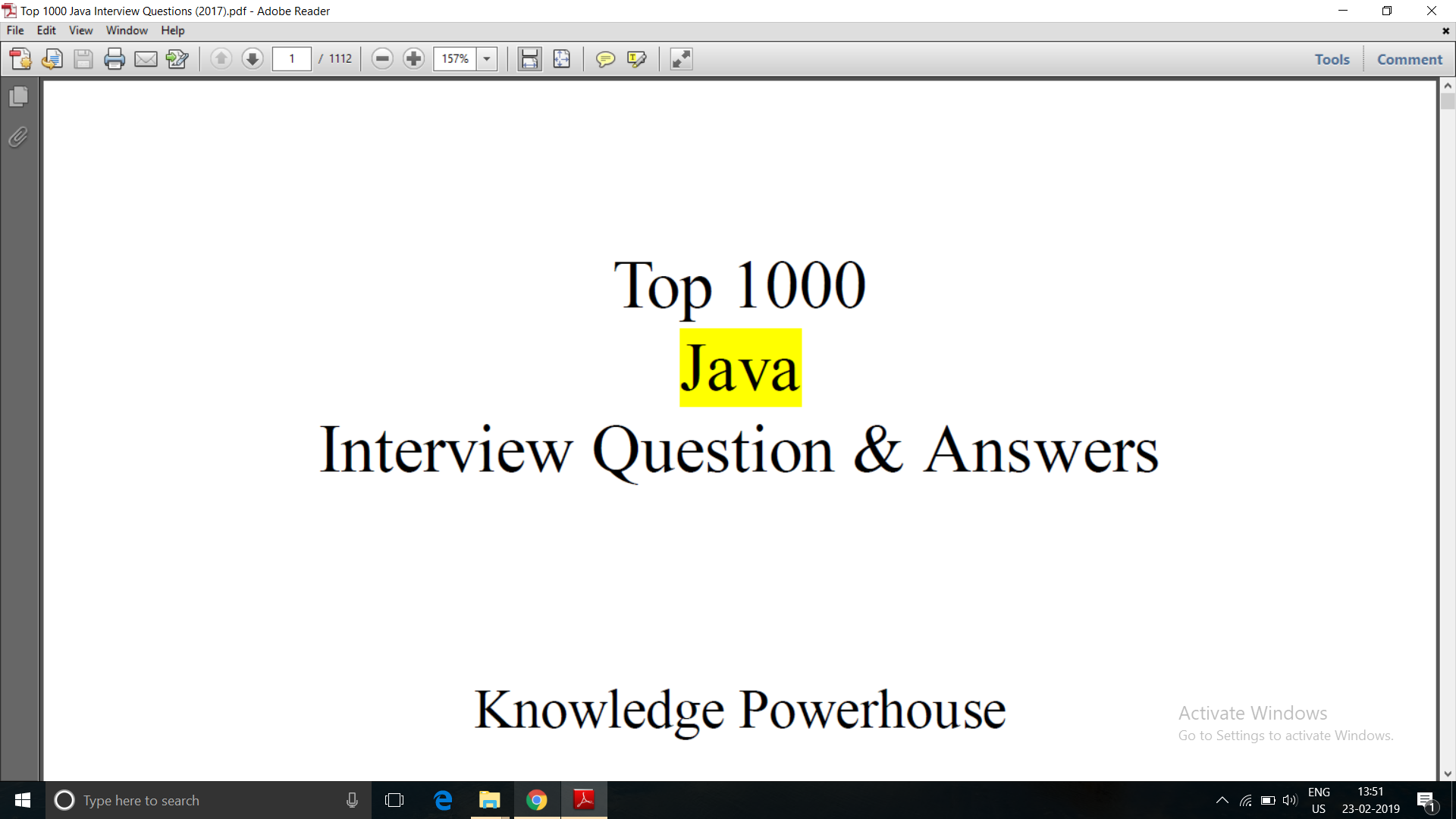Top 1000 Java Interview Question & Answers eBook