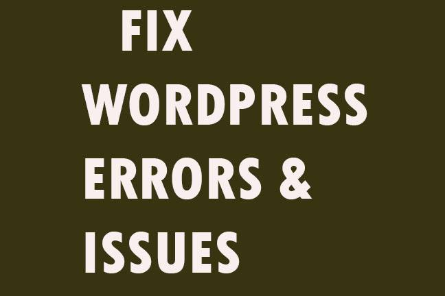 Do a WordPress website creation in short time